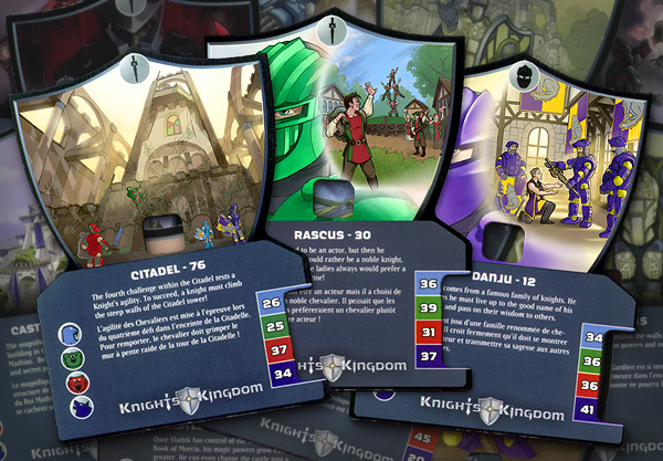 Knights Kingdom 2004 Trading Cards