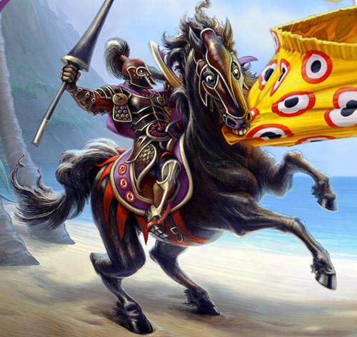 http://www.mikerayhawk.com/images/beholder_knight.jpg