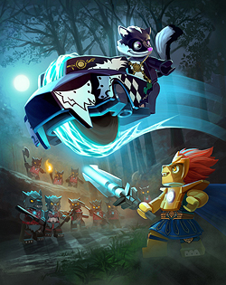 Mike Rayhawk: LEGO Legends of Chima 2014 Trading Cards
