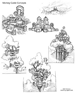 Ape Castle Sketches