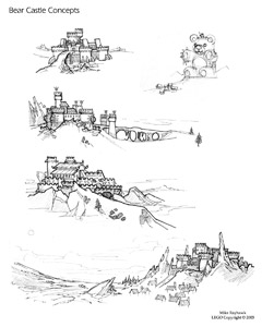 Bear Castle Sketches