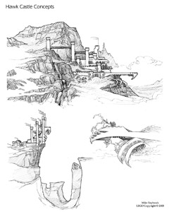 Hawk Castle Sketches