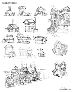 Architecture Sketches