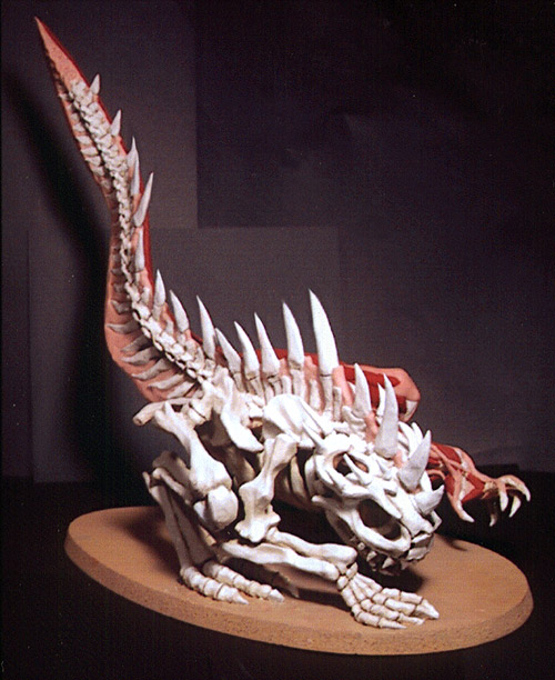 Lizard Anatomy: Sculpture